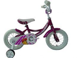 """Poppy Sport 12"""" Purple Kids Bicycle"""