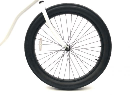 """Fat Tire 3.0 - Pearl White """"San Diego Bicycle Co."""""""