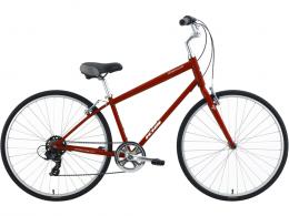 2021 KHS Eastwood Hybrid Bicycle Red