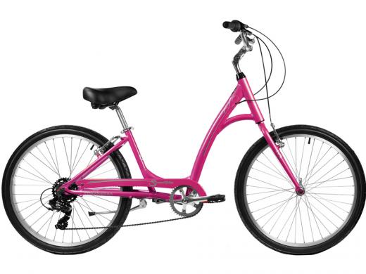 2021 Manhattan Smoothie Comfort Path Bicycle Pink Sherbert