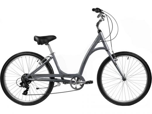 2021 Manhattan Smoothie Comfort Path Bicycle Grey