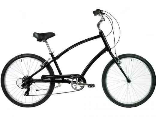 2021 Manhattan Smoothie Comfort Path Bicycle Matte Black