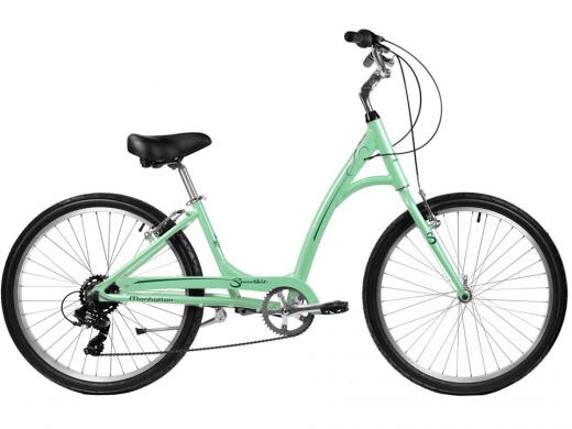 2021 Manhattan Smoothie Comfort Path Bicycle Mint