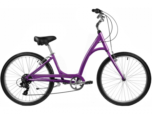 2021 Manhattan Smoothie Comfort Path Bicycle Orchid