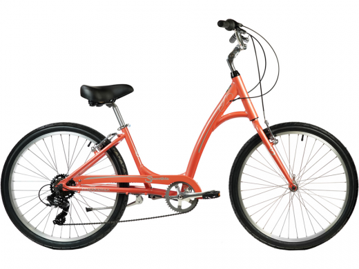 2021 Manhattan Smoothie Comfort Path Bicycle Coral