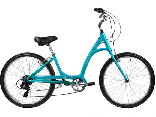 2021 Manhattan Smoothie Comfort Path Bicycle Teal