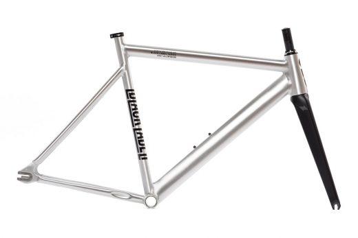 6061 State Bicycle Co Black Label V2 Track Frame Set Polished