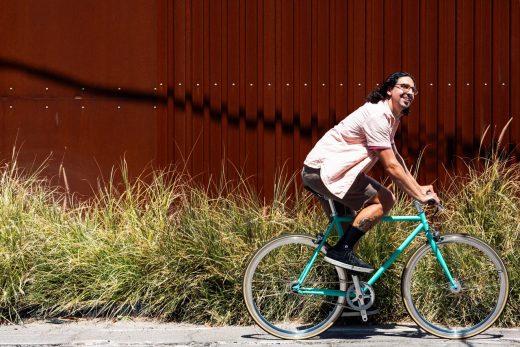 "Delfin - Core-Line Matte Black ""State Bicycle Co."""