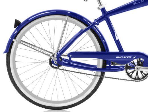 Micargi Rover LX Blue Aluminum Beach Cruiser