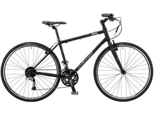 2020 KHS Urban Xpress Mens Commuter Road Bike Matte Black