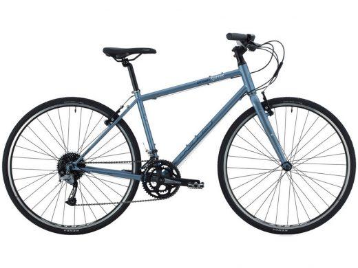 2020 KHS Urban Xpress Mens Commuter Road Bike Steel Blue