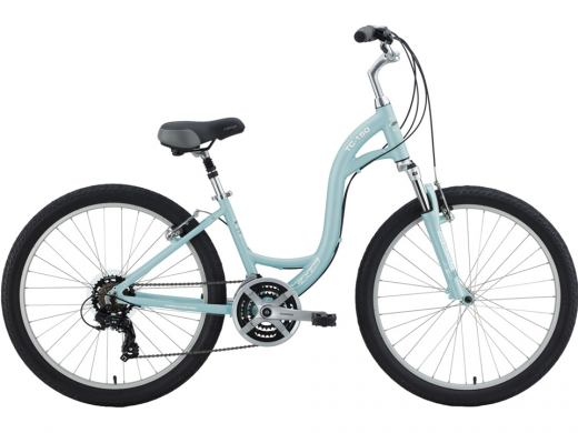 """Ice Blue 2021 KHS Town & Country """"TC 150"""" Step Through"""