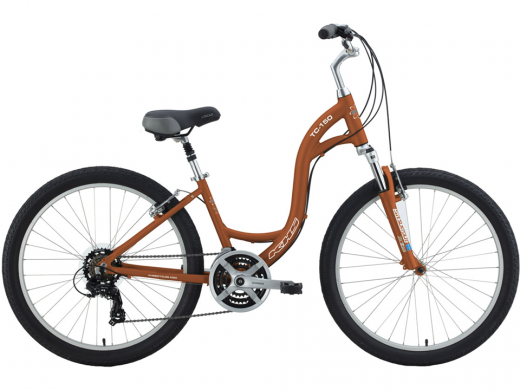 """Rust Color 2021 KHS Town & Country """"TC 150"""" Step Through"""