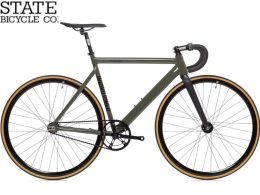 """6061 Black Label Army Green v2 """"State Bicycle Co."""""""