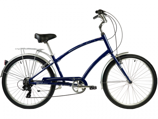 2021 Manhattan Smoothie Comfort Path Bicycle Dark Blue