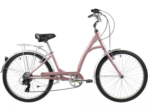 2021 Manhattan Smoothie Comfort Path Bicycle Rose Gold