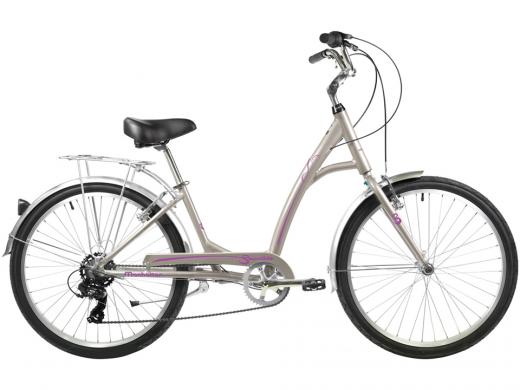 2021 Manhattan Smoothie Comfort Path Bicycle Silver Rose