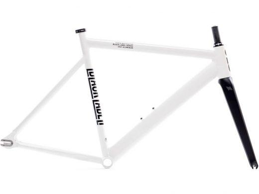 State Bicycle Co Black Label Frame Set White
