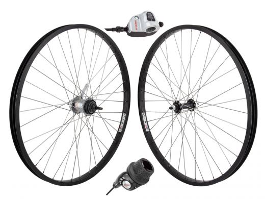 3 Speed Wheel Set Black - Shimano SG-3C41