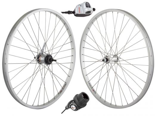 3 Speed Wheel Set Silver - Shimano SG-3C41