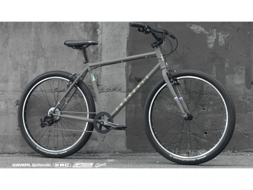 2021 Fairdale Flyer Cool Gray