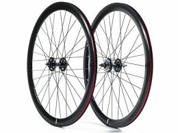 State Bicycle Co. - 40mm Deep V Black Wheel Set