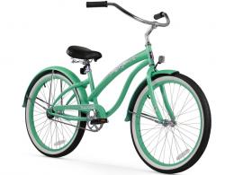 Firmstrong Bella Classic Single Speed - Women's 26 Beach Cruiser Bike Mint