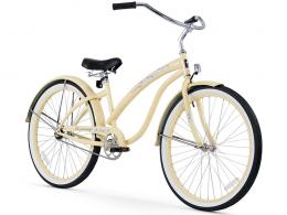 Firmstrong Bella Classic Single Speed - Women's 26 Beach Cruiser Bike Vanilla