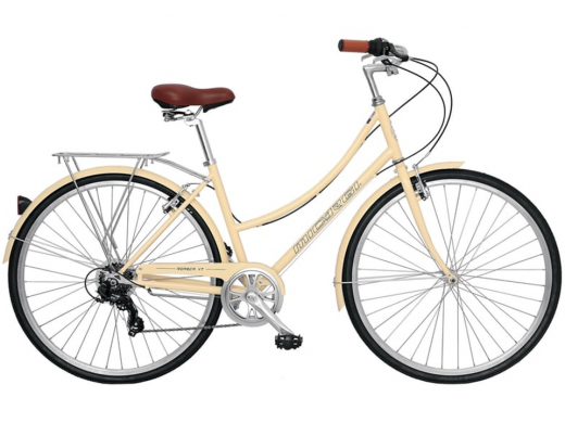 ROASCA V7 7 Speed City Bike Micargi Bicycles Vanilla