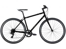 2021 KHS Urban Soul 8 Commuter Road Bike Matte Black