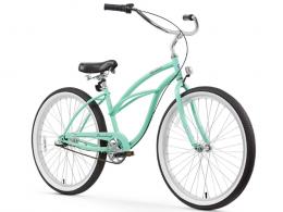 Firmstrong Urban Lady 3 Speed - Women's 26 Beach Cruiser Bike Mint