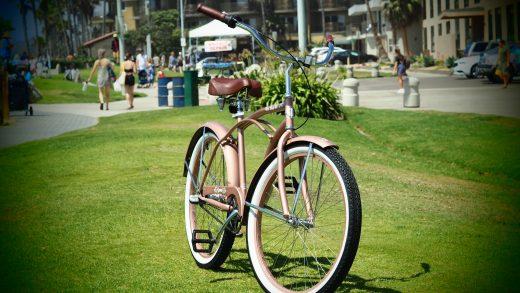 Ladies Garnet 3 Speed Rose Gold San Diego Bicycle Co.