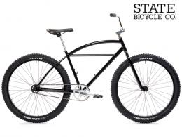 Klunker - Black & Metallic 27.5 State Bicycle Co